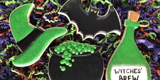 Whaley Sweet Halloween Cookie Decorating Class