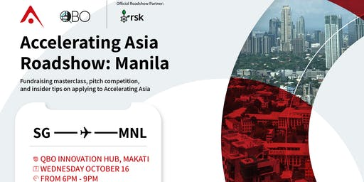 Accelerating Asia Roadshow in Manila