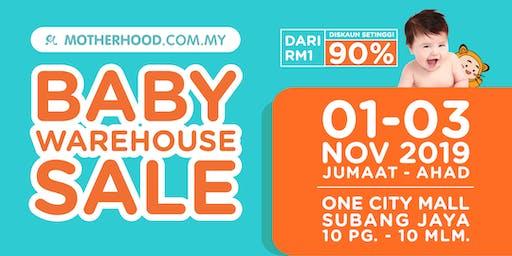 Motherhood Baby Warehouse Sale is BACK!!!