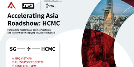Accelerating Asia Roadshow in Ho Chi Minh City tickets