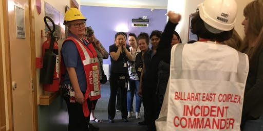 Fire and Evacuation DRILL – BBH: Henry Bolte Ground Floor South (Transit Lounge, HITH, PFC Office)