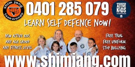 Lockhart Come & Try Day with Shimjang Taekwondo tickets