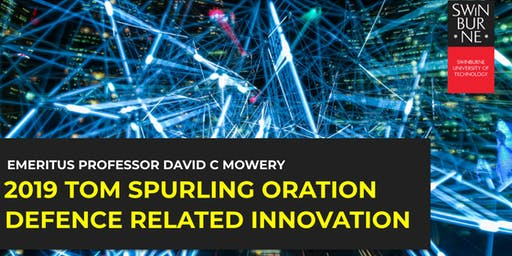 2019 Tom Spurling Oration | Defence Related Innovation