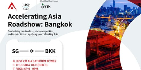 Accelerating Asia Roadshow in Bangkok tickets