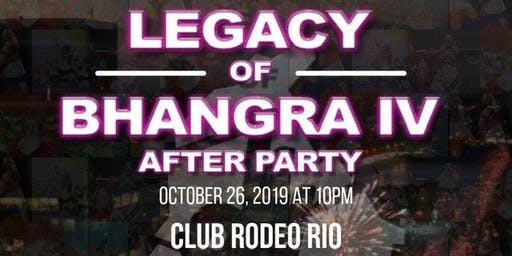 Legacy of Bhangra IV Afterparty