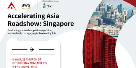 Accelerating Asia Roadshow in Singapore tickets