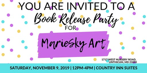 Book Release Party for MarieSky Art
