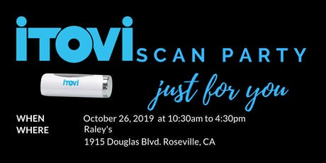 Essential Oil iTOVi Scan Party tickets
