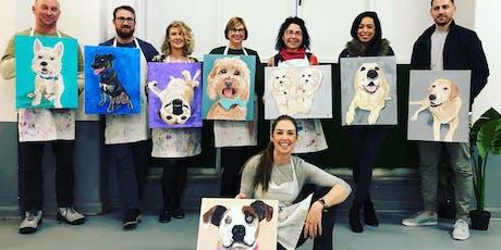 Paint Your Pet - Art Class tickets