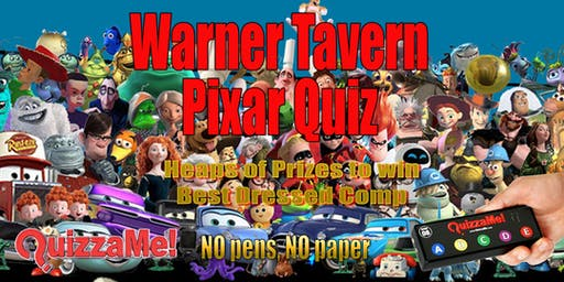 Warner Tavern Pixar Quiz