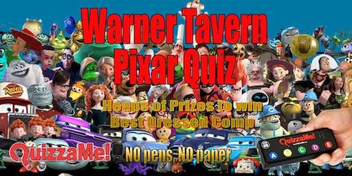 Warner Tavern Pixar Quiz