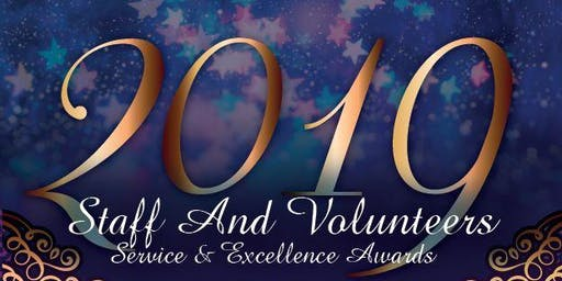 2019 Staff and Volunteers Service & Excellence Awards