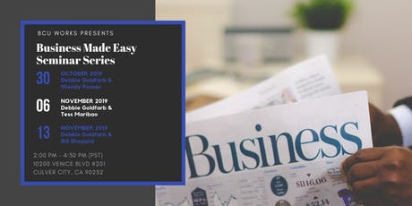 Business Made Easy Seminar Series tickets