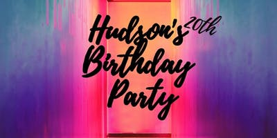 HUDSON'S 20th BDAY PARTY!!!