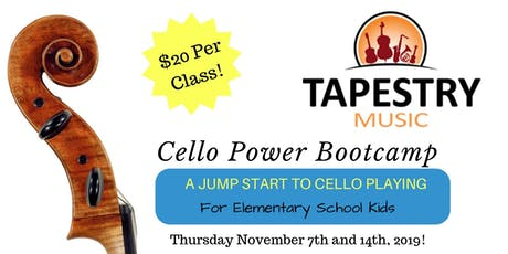 Cello Power Bootcamp: A Jump Start to Playing Cello with Peter Caton tickets