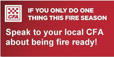 Olinda Fire Information Session