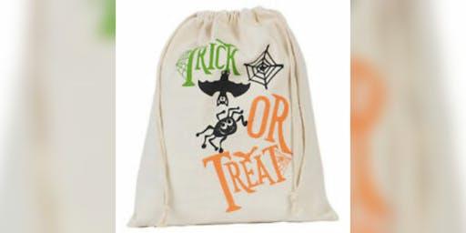 Halloween Bag Making
