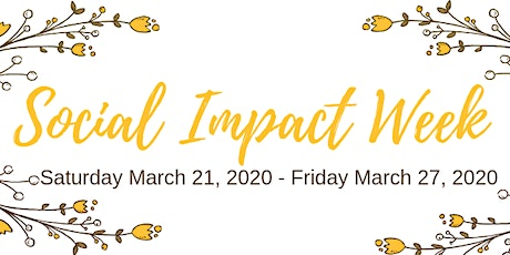 Social Impact Week tickets