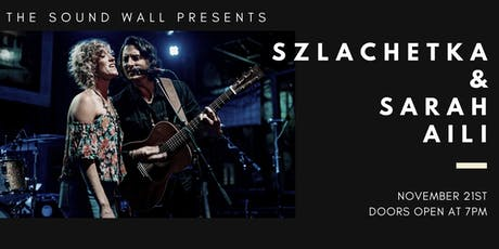 Szlachetka & Sarah Aili | November 21, 2019 tickets