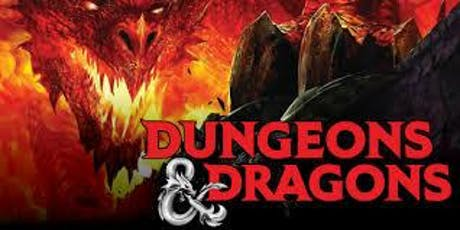 Dungeons & Dragons for Teens (11-17yrs) tickets