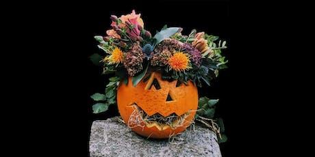 Floral Pumpkin Workshop tickets