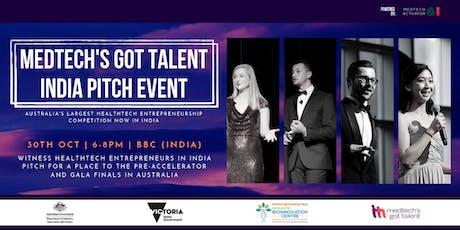 MedTech's Got Talent India - Pitch Evening tickets