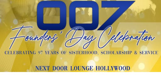 SoCal Sigma Gamma Rho Founders' Day 2019 Celebration