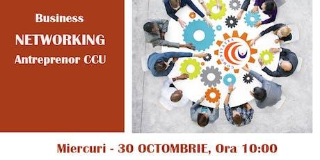 Business Networking al Antreprenorilor Competenți, Corecți și Utili tickets