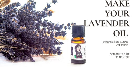 Make Your Own Lavender Oil