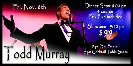 Todd Murray tickets