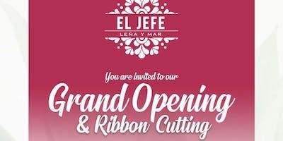 El Jefe Restaurant Ribbon Cutting