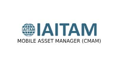 IAITAM Mobile Asset Manager (CMAM) 2 Days Virtual Live Training in Utrecht