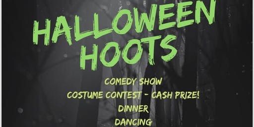 Halloween Hoots- Costume Contest, Comedy, Dinner & Dance