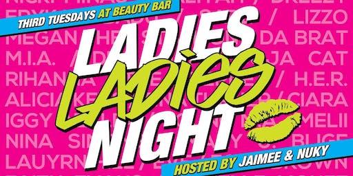 Ladies Ladies Night at Beauty Bar Chicago