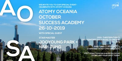 Atomy Oceania- October Success Academy