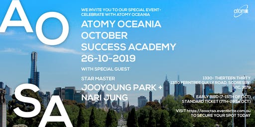 Atomy Oceania- October Success Academy