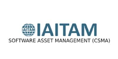IAITAM Software Asset Management (CSAM) 2 Days Training in Utrecht