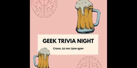 GEEK TRIVIA NIGHT! tickets