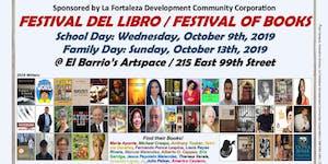 EL FESTIVAL DEL LIBRO/Festival of Books 2019