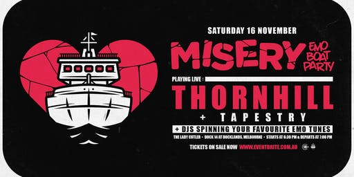 Misery: Emo Boat Party - November w/ Thornhill