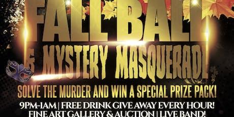 Fall Ball & Mystery Masquerade tickets