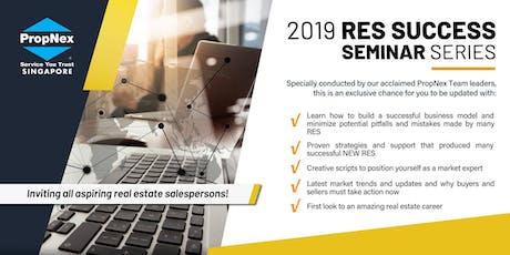 PropNex RES Success Seminar(23 Oct 2019) tickets