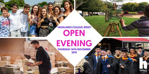 Highlands College Open Evening 2019