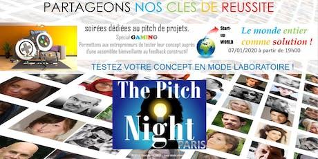 "Pitch night Paris spécial ""GAMING"" billets"