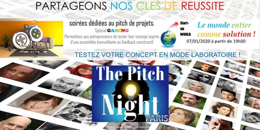 "Pitch night Paris spécial ""GAMING"""