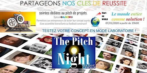 "Pitch night Paris spécial ""GAMING"""