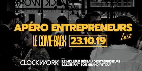 Apéro Entrepreneurs #Lille - Le Grand Retour billets