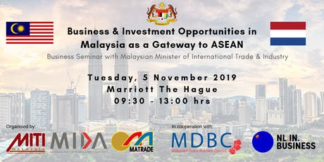 Business and Investment Opportunities in Malaysia as a Gateway to ASEAN tickets