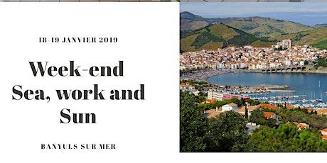 Week-end Sea, work and sun billets