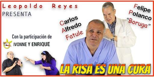 """El Show """"La Risa es una Cura"""" en Simon Parrilla (Orlando, FL)"""
